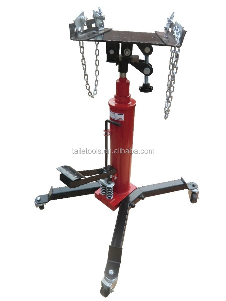 0.5 T high Lift Hydraulic Telescopic Transmission Jack & High Position Conveyer
