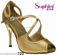 Open Toe Sexy Woman Shoes ,Naked Color Tango Dance Shoes ,China Manufacturers Dance Shoes