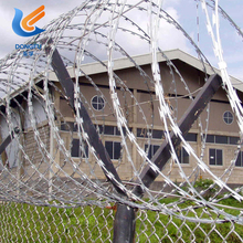 450mm Coil Diameter Concertina Razor Barbed Wire For Sale