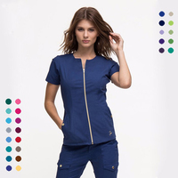 2019 fashionable nurse uniform designs hospital uniform scrubs