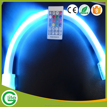 High voltage flexible RGB color LED neon rope light