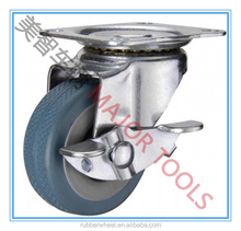 castor wheel 50x16mm and caster wheel and fixed and swivel castor for trolley cart