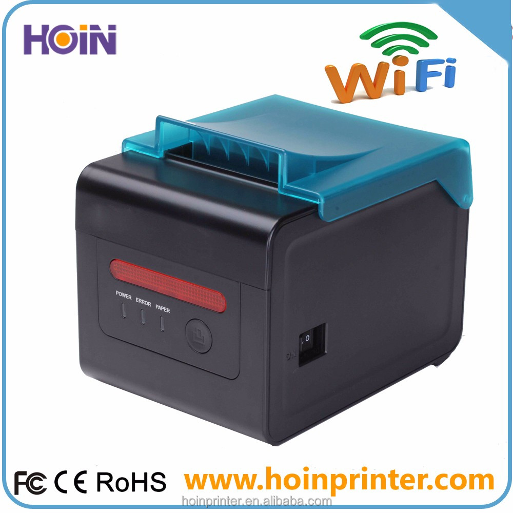 WiFi Wireless Interface 80mm POS Thermal Receipt Printer With USB+Lan+Wifi Interface