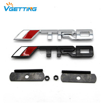 Trd Front Grill Grille Emblem Rear Boot Car Badge Sticker