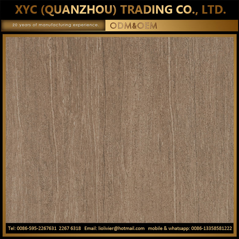 indoor floor decorative chinese wood look ceramic tile 30x60cm for sale