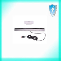 New Wired Infrared Ray Sensor Bar for Nintendo Wii Black with Silver US