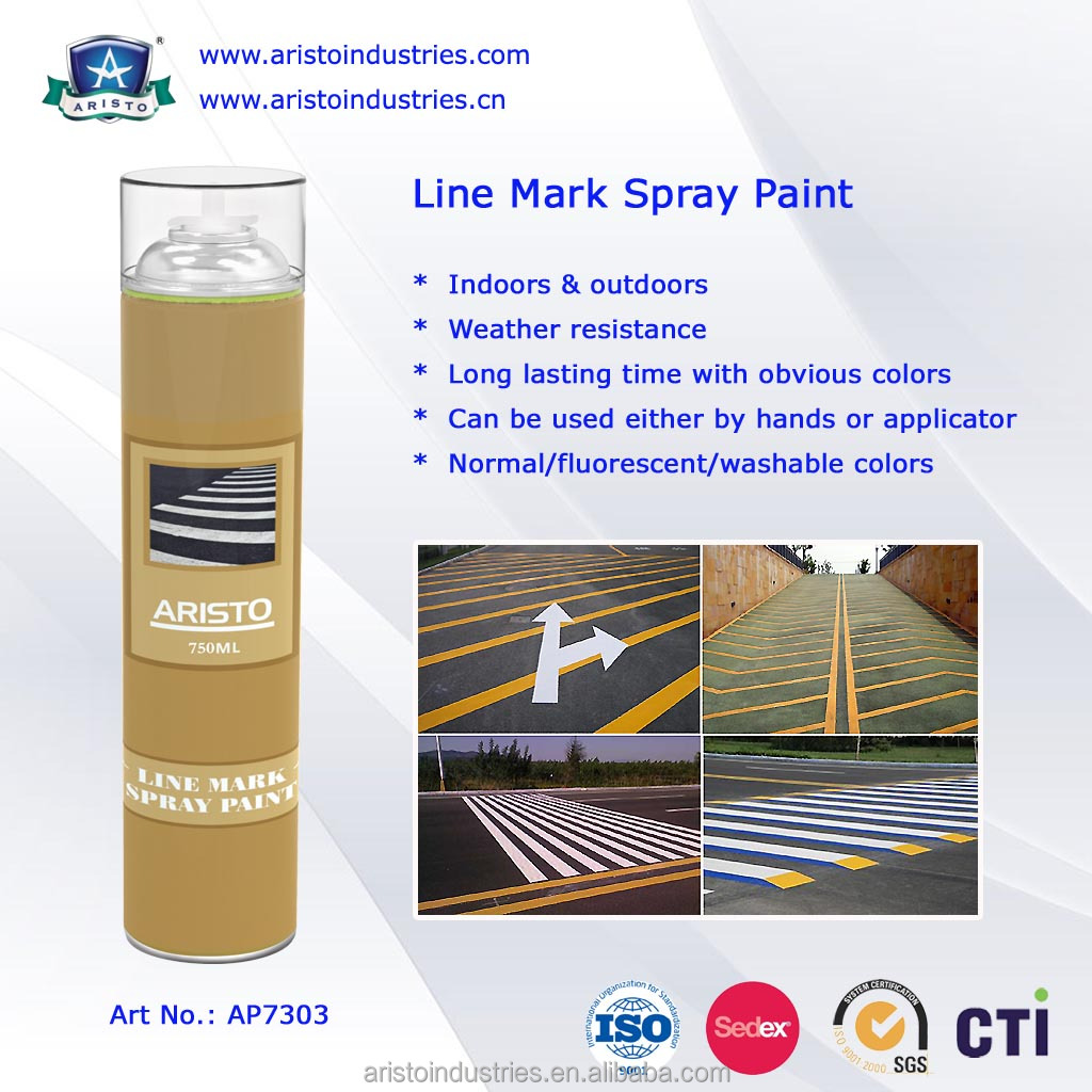 Aristo 750ml Road Marking Paint / Line Marking Paint / Road Marker