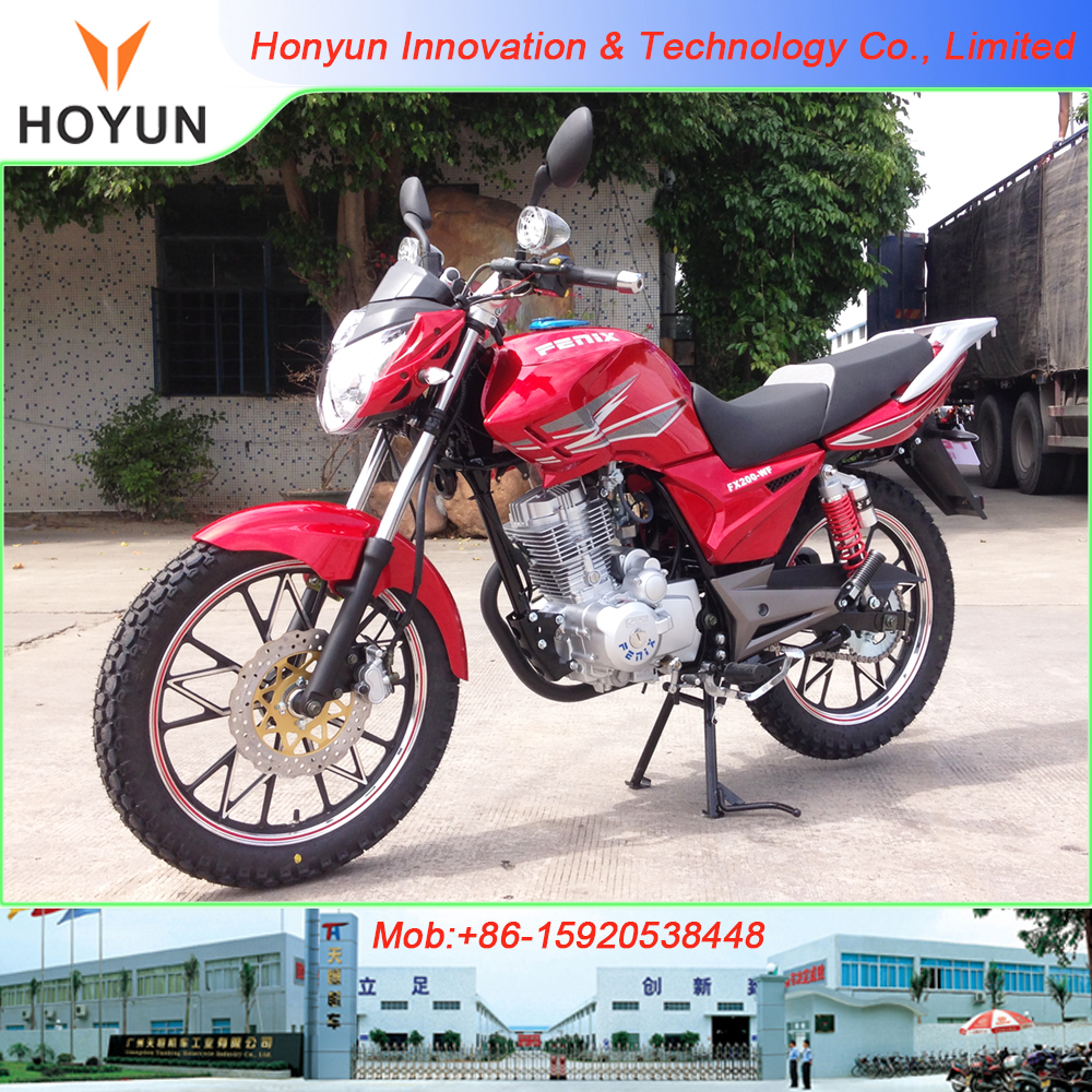 Hot sale in Bolivia made in Guangzhou FENIX FX200-WF 430USD Weiphone motorcycles