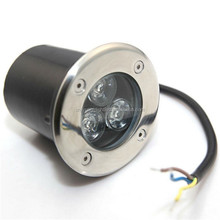 IP67 RGB White Floor Mounted LED Underground Light 3W 6W 9W 12W