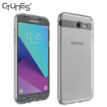 For Samsung Galaxy J7 Prime Case, Clear Slim Thin TPU Rubber Soft Skin Protective Case Cover For Samsung Galaxy J7 Prime