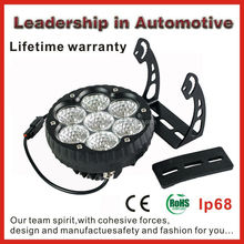 Factory supply New design 6 inch 70w super bright led driving light CE RoHs certificates IP68 EMC led offroad spot light