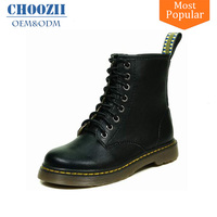 Choozii Classic Design Black Long Boy Kids Snow Leather Boots