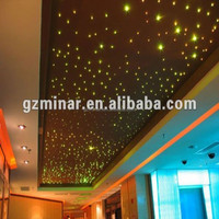 2016 new product 5W 6 colors led starry sky star effect ceiling
