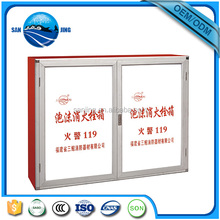2016 factory low price fire protection cabinet,steel cabinet for fire extinguisher