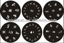 NEW 2012 Nail Art Polish Stamp Stamping Manicure Image Plates