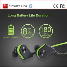Magnet Wearable V4.0 Wireless Hands Free earbuds Lightweight Sweatproof Bluetooth Stereo Sports Headset Earphones for Samsung