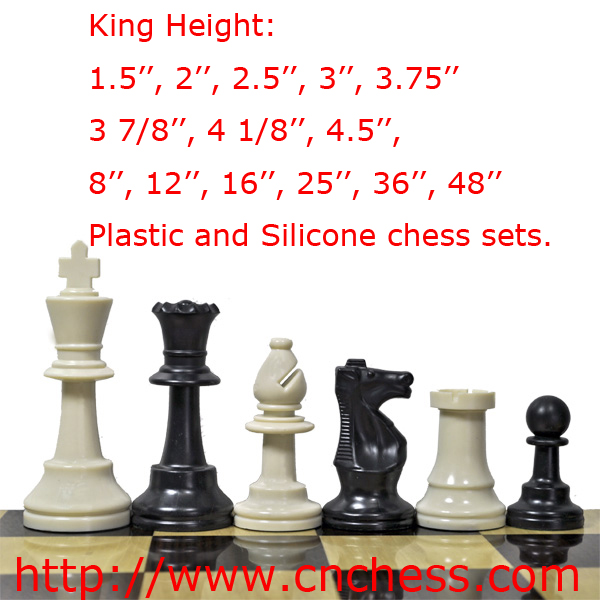 Tournament Standard Club Chess Pieces and Chess man