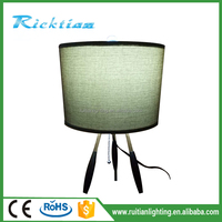 Hotel Table Lamp Bedside Desk Light Home Hotel Table Lamp Whit Power Outlet Table Lamp