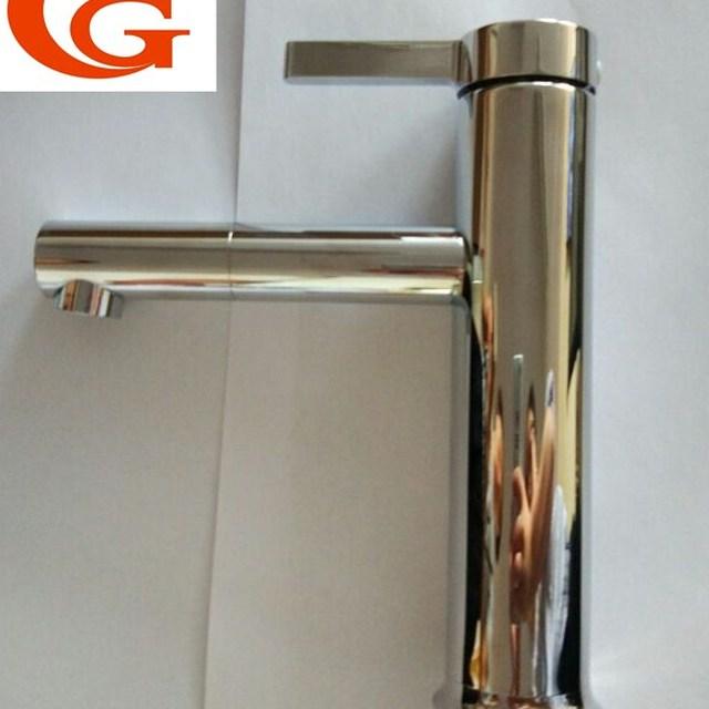 brass basin faucet plating