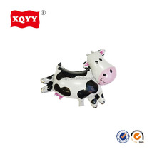 13 inch small cow animal shaped small helium foil balloons