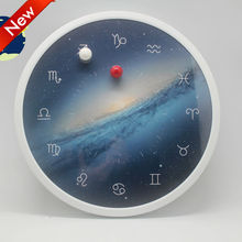 JT-03 Customizable Clock Face Double Balls Magnetic Wall Clock