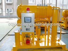 Automated Operation Turbine Oil Purification Purifier/Lube Oil Purifying Machine