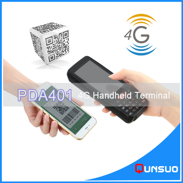 Professional Logistic Use Android Label Scanner PDA Support Wi-Fi/4G with NFC RFID Data Collector