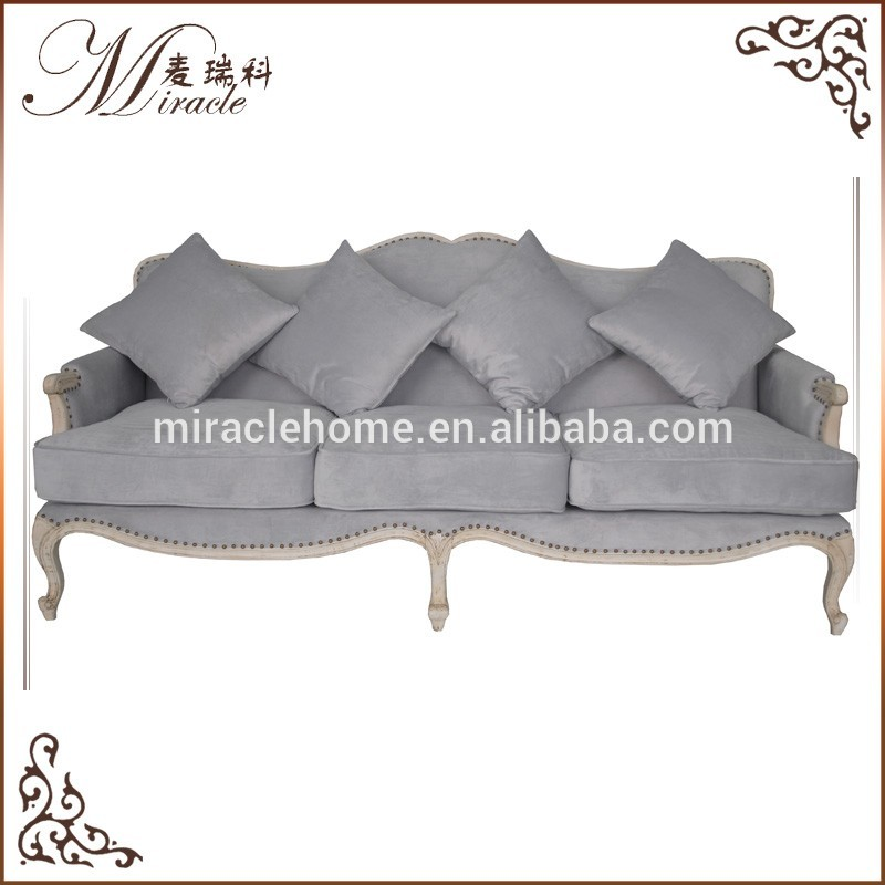 Factory direct supply european style solid pine wood sofa furniture with competitive price