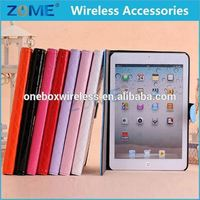 100% Real Genuine For Ipad Mini 1 Universal Leather Case For Phone