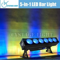 Economic 6X25W 5IN1 LED Bar Light Wall Wash Light