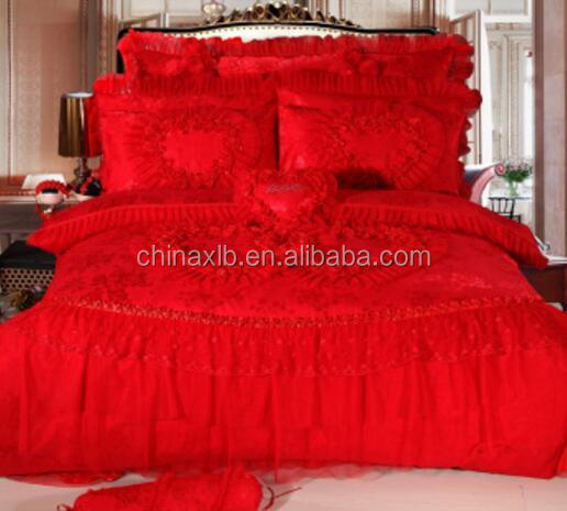 Hot Pink and red Reversible 6 pc Bed in a Bag set
