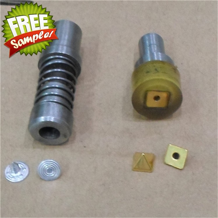 6.5MM pyramid contradict electric nail mold square rivets motor mold