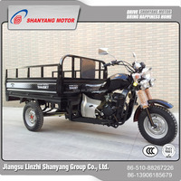 Motorized 3 wheel cabina tricycle, cargo delivery with canopy motorcycle
