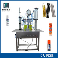 oxygen gas aerosol filling machine