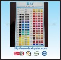 Dexin Car Paint Color Chart