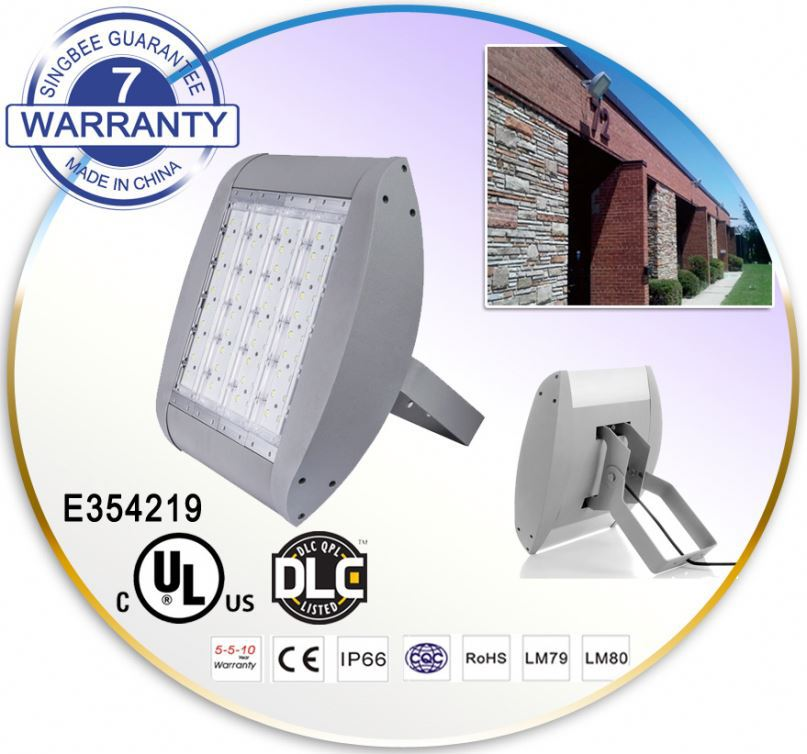 2016 New Metal Halide 250W Replacement Bulb 150 Watt LED Flood Light 12 Volt IP65 Color Changing For area Lighting Projects