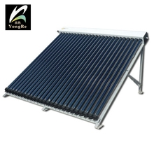 Vacuum tube three targets solar collector