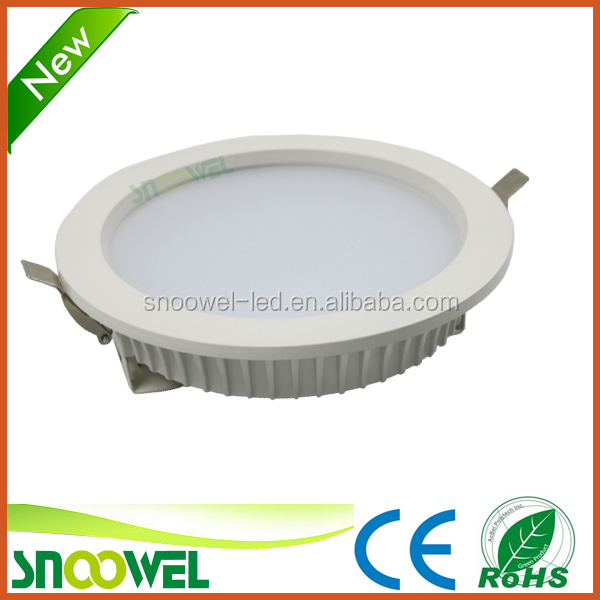 small led round flat panel light 18w led ceiling down light