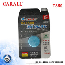 Blue Windscreen Cleaning Shampoo Tablet