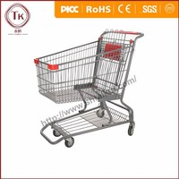 American style wholesale supermarket shopping carts and trolleys