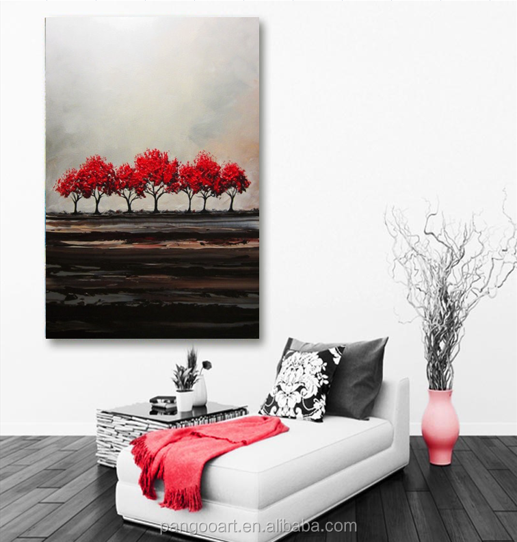 Popular Home decoration Abstract Handmade Oil Painting Seascape Canvas Painting