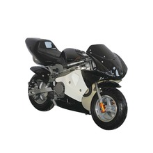 fashion kids enjoying mini pocket bike 49cc