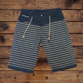 CASUAL STRIPED MEN'S SHORTS