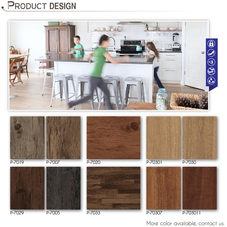 Commerical use heavy duty vinyl flooring for decoration for Heavy duty vinyl flooring