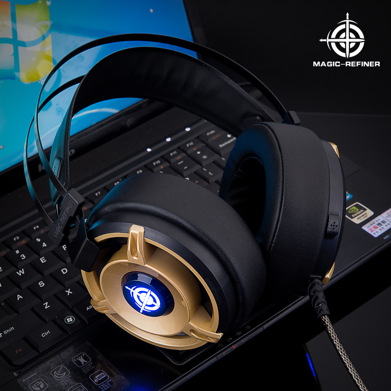 Merry Christmas Special supply New design Magic-Refiner brand headphone for gaming with active noise cancelling