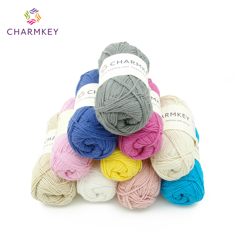 <strong>100</strong> Cotton Yarn Hand Knitting Yarn the cheapest yarn