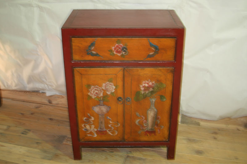 chinese antique furniture wooden tibet cabinet