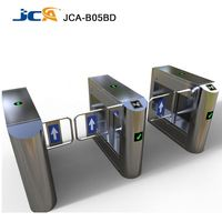 Mechnism turnstile supermarket security system