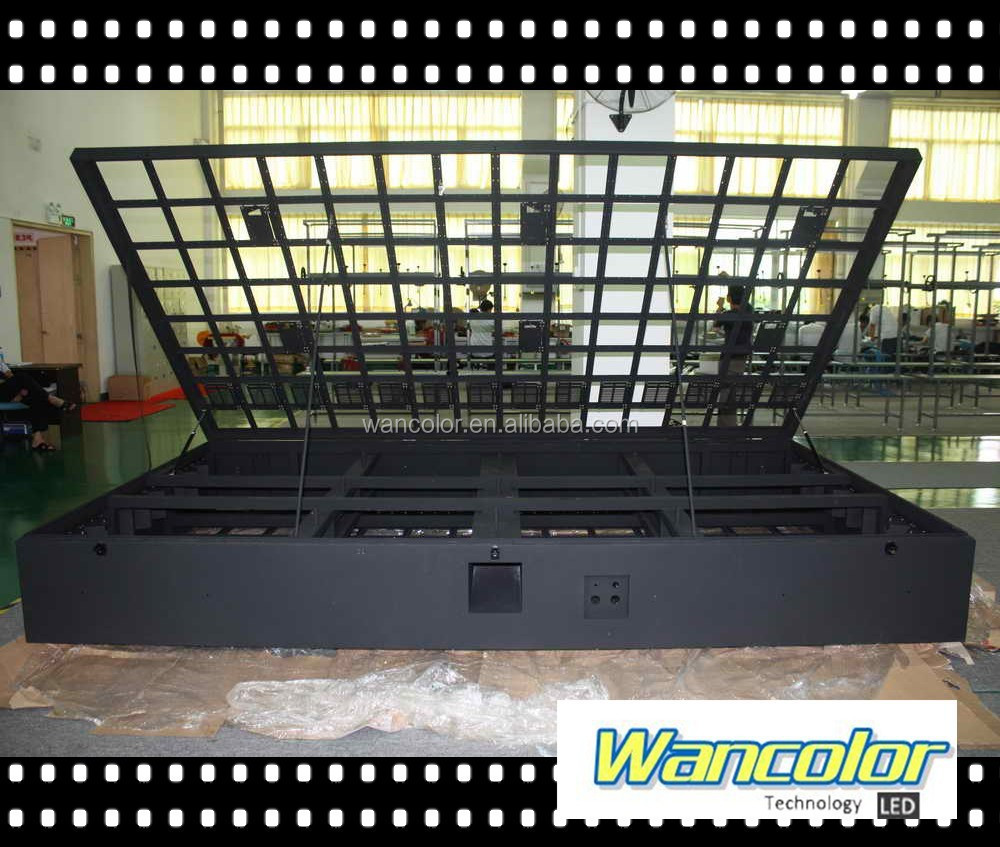 Outdoor two side cabinet LED display front maintenance double side LED cabinet P10 outdoor double side LED sign