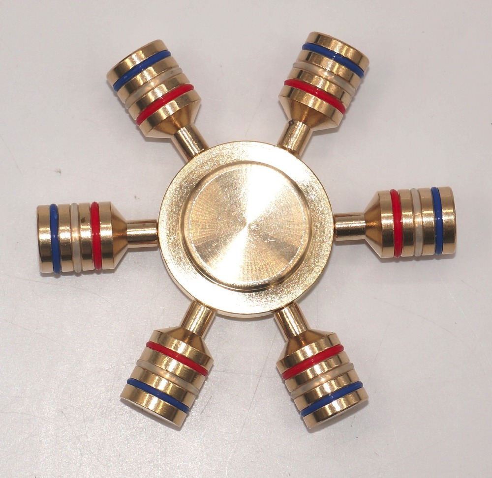Promotion! New fancy brass spinner can be spinning about 4-7 minutes